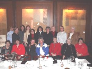 Womens Club Christmas party 1