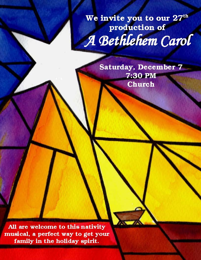 Nativity Musical December 7